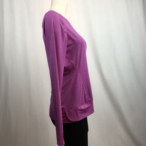Running Room Tops - Running Room Purple Long Sleeve Athletic Shirt M